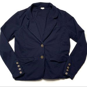 J.CREW women's sweater blazer